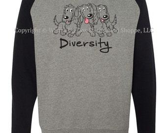 Dachshund Sweatshirt Diversity