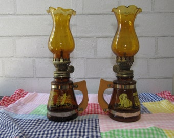 Miniature/Small Oil Lamps from the Great Smokey Mountains