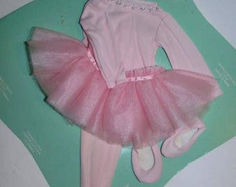 Fisher Price My Friend Doll - Ballerina Outfit - NOS New Old Stock - Mandy Jenny & Becky - Doll Clothes