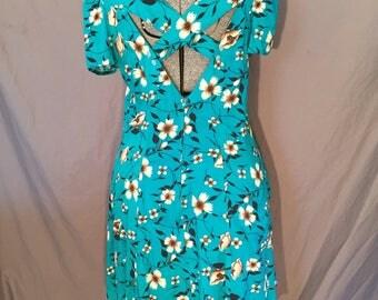 Plus Size Short 90s Cut Out Summer Dress