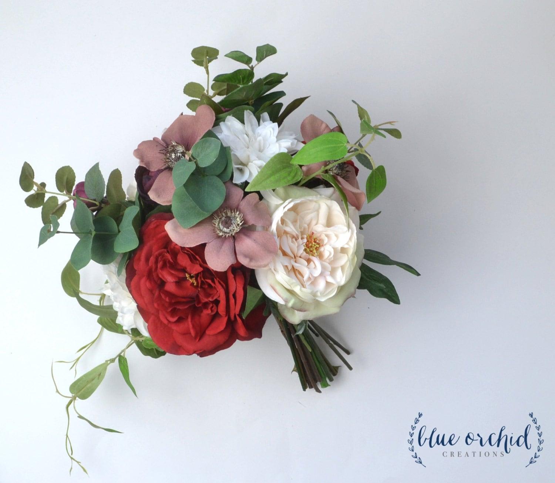 Winter Bouquet: Wedding Bouquet Winter Bouquet Silk Wedding Bouquet Bridal
