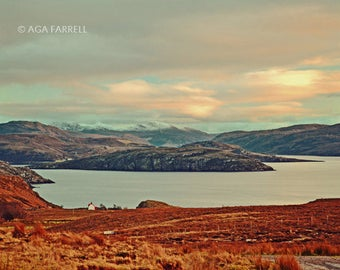 Landscape Photography, Large Print, Landscape Wall Art, Travel, Mountain Art, Scotland, Culnacraig, Landscape Print, Mountain Photography