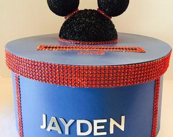 Mickey Mouse Birthday Card Box