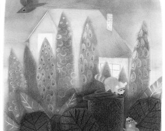 Trashpickers - Original drawing