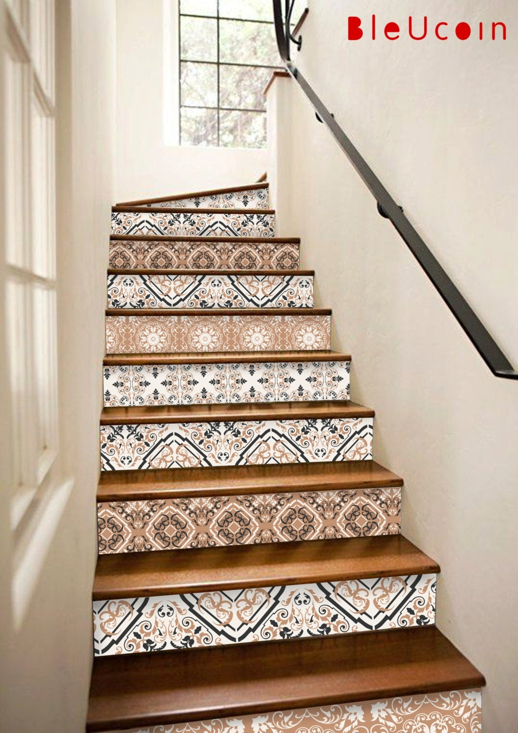 Stairs Decal 2017 Interior Trend Earthy Tones 10 Strips