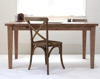 Rustic Farmhouse Desk, Reclaimed Wood Desk, Rustic Table