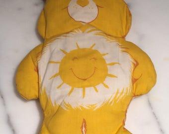 Care Bears Funshine Vintage 80s Pillow