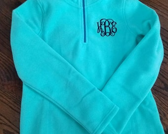 Child/ Youth Microfleece Quarter Zip--BACK in  STOCK--SEVEN Colors!!!