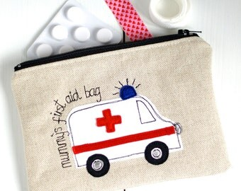 Personalised First Aid Bag - First Aid Bag - First Aid Organiser - Medical Bag - Diabetes Bag - Diabetic Supply Bag - New Mum Gift