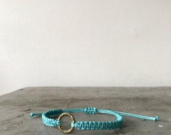 Macrame bracelets, Minimal friendship bracelet, Ready to wear, Bohemian, Boho accessories, Simplicity, Modern macrame, sliding knot.