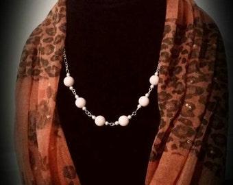 Pink Jade - Emotional Healing Necklace - Healing Crystals - Jade- Sterling Silver Jewerly-Natural Stones - Gemstones