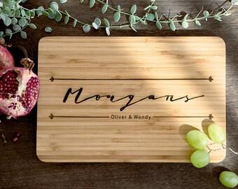 Custom Cutting Board Wood Cutting Board Personalized Wood Cutting Board Bridal Shower Gift Couples Gift Christmas Gift Cutting Board #20