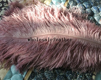 100 pcs rose pink ostrich feather plumes for wedding centerpieces wedding decor party supply