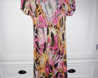 ROBERTO CAVALLI dress size 38 FR - 1990s