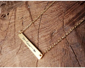 Love Necklace, 925 Sterling Silver, 18 K gold filled, Gift, Romantic Necklace