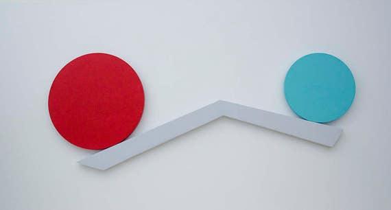 Minimalist Abstract Wall Sculpture | Abstract Wall Art | Minimalist Art | Geometric Art