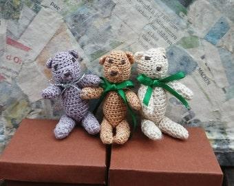 Miniature Crochet Teddy pattern