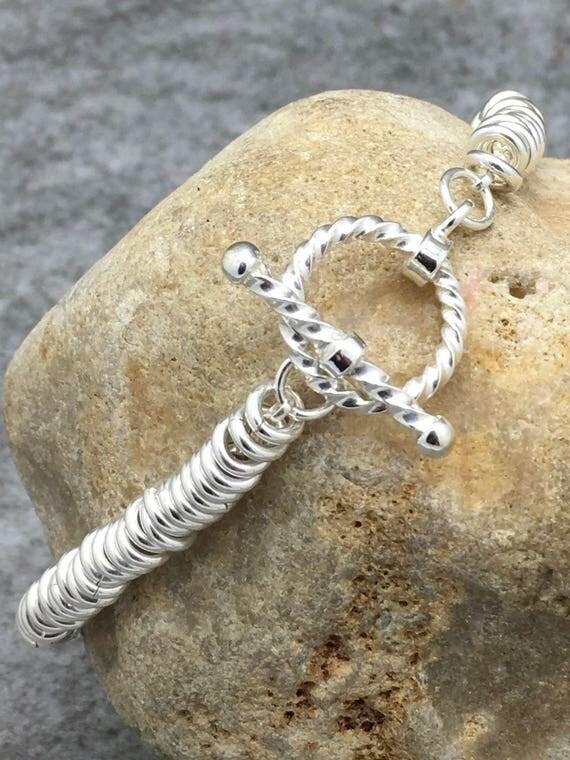 Sterling Silver Sweetie Bracelet Hallmarked.