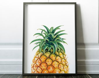 Pineapple Decor Etsy
