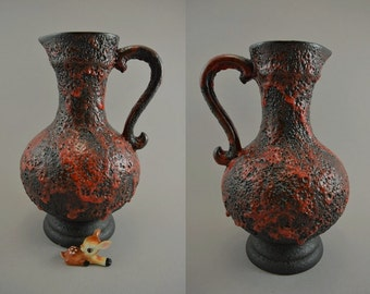 Vintage vase/jug / Stein-Keramik / 70 28   West Germany   WGP   60s