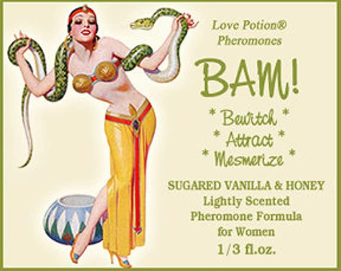 BAM! Bewitch * Attract * Mesmerize! - Lightly Scented Pheromone Blend for Women - Choice of Scents! - Love Potion Magickal Perfumerie