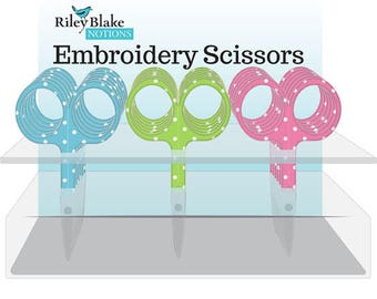 Embriodery Scissors by Riley Blake Designs-ST-6744