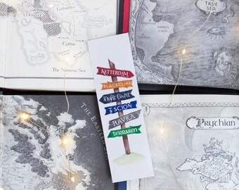 Book Travels (Fantasy) - Bookmark