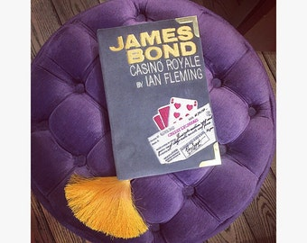 Book clutch-purse JAMES BOND Casino Royale by Ian Fleming - 21 x 13 cm