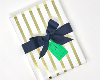 Personalized Monogrammed Gift Tag