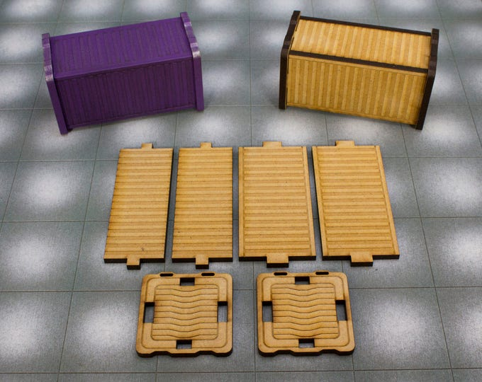 Shipping Container Terrain Kit