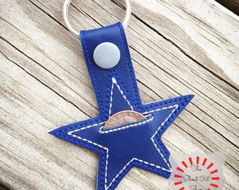 Texas star quarter holder keychain, Texas Star keyChain, Texas star key chain, Texas star key fob, Texas Star, Aldi quarter holder keychain