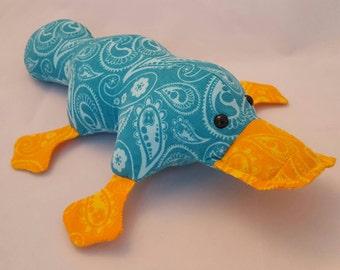Stuffed Platypus/ plushie / softie