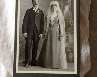 Antique Wedding Photograph Sheboygan WI