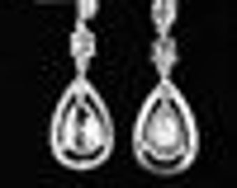 Crystal Diamonds Earrings