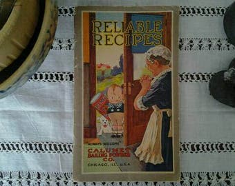 Calumet Reliable Recipes Cookbook