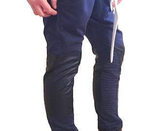 Baggy Navy Blue Pants