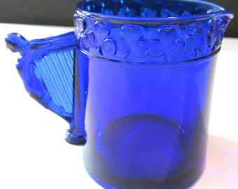 Cobalt Blue Lucky Pitcher