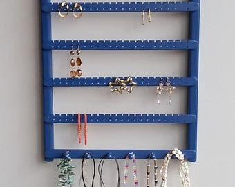 Jewelry Organizer, Earring Holder, Jewelry Display, Earring Storage,Necklace Organizer,Jewelry Wall Organizer,Earring Organizer,Earring Rack