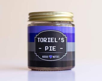 Toriel's Pie  -- Undertale Inspired-- Soy Candle (4 oz.)