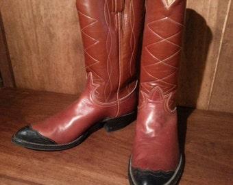 Vintage Ladies Tony Lama Western Boots