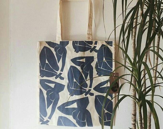 matisse cut out tote.