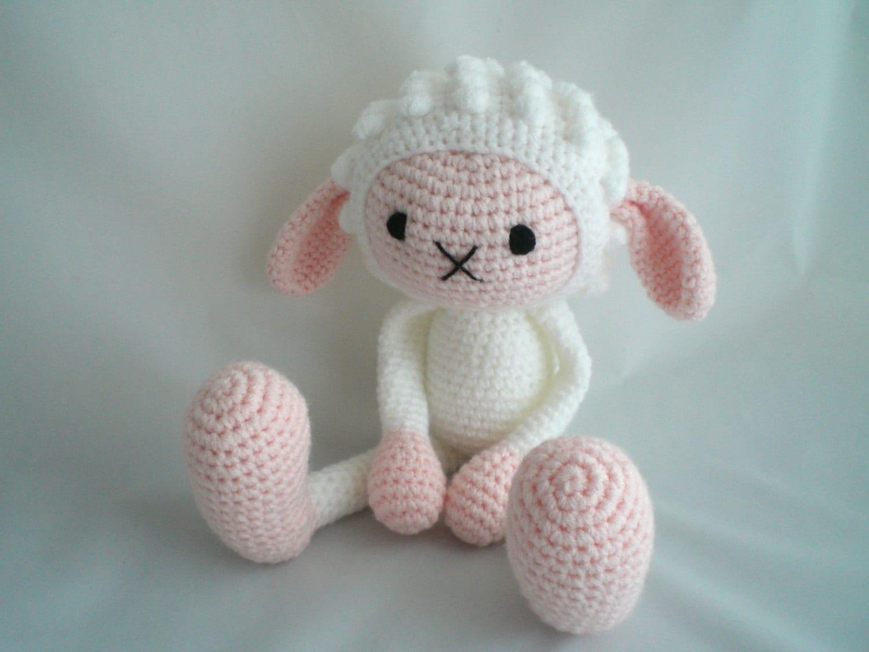 Crochet Sheep / Amigurumi Sheep / Crochet Amigurumi Soft Toy