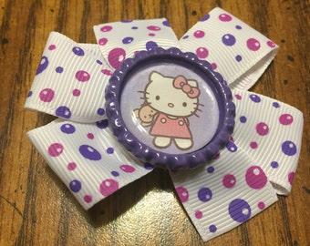Bubble Hello Kitty Hair bow