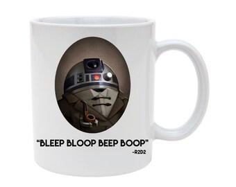 R2D2 starwars mug