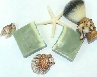 Shaving Soap, Gift for Dad, Natural Soap, Men's Soap, Natural Soap, Shaving Men's Soap