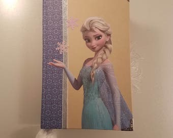 Frozen Junk Journal, Diary, Journal, or smash book