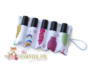 Essential Oil Case~Doterra Oils~Young Living Oils~Essential Oil Holder~Essential Oil Insert~Bag Insert~Rollerball~Roller Bottle