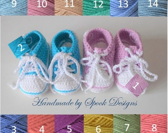 BABY CONVERSE BOOTIES/Baby Shoes/0-6 months/Ready to Ship
