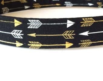 Black Dog Collar ~ Black Dog Leash ~ Black Dog Harness - Arrow Dog Collar - Boy Dog Collar - Boy Dog Harness