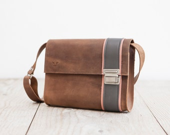 Crossbodybag    Real Leather Bag    made in Germany